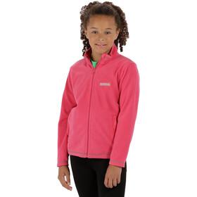 Regatta King II Fleece Jacket Kids Hot Pink